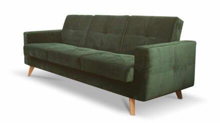 Schlafsofa dunkelgrun ,sofa grun Como