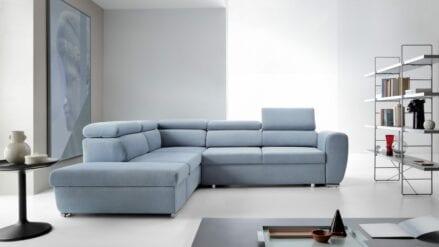Ecksofa blau Emporio LUX 7