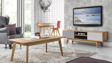 TV-Schrank Eiche STILO mit esstisch aus eiche