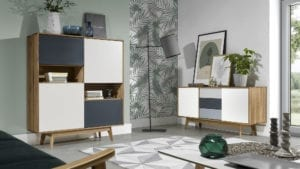 Highboard Eiche Stilo