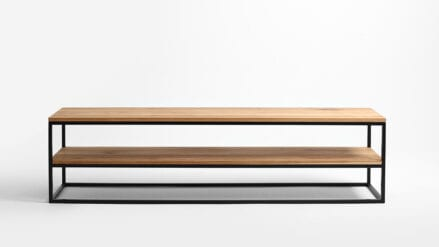 eiche TV-Schrank Julita Solid Wood 180