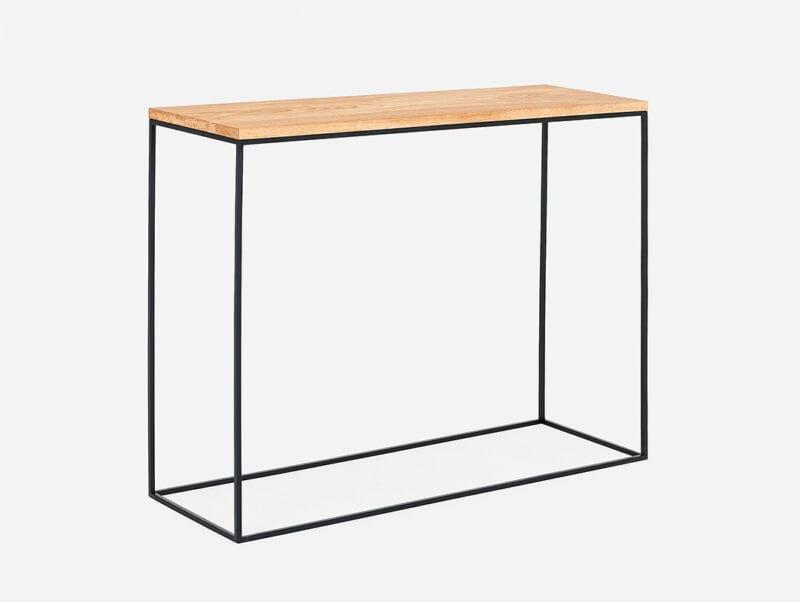 Konsolentisch mit eiche Tensio Solid Wood