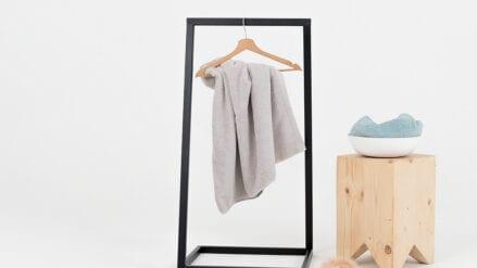 designer Kleiderständer Hall Bath 50 rot