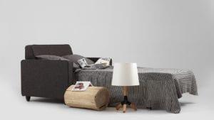 Sessel mit Bettfunktion