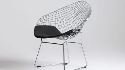 Designer-Stuhl diament silber
