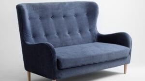 designer elegante sofa dunkelblau Cozyboy