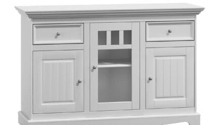 Sideboard weiß Belluno 3D