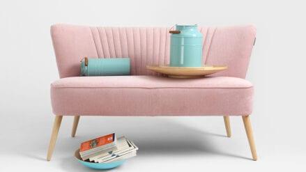 Sofa rosa Harry 2