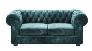 2-Sitzer Sofa Chesterfield