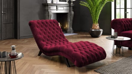 LORD Chaiselongue rot- Riviera 61