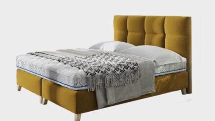 Polsterbett mit Bettkasten Mona