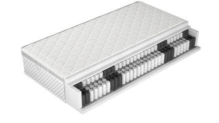 Taschenfederkernmatratze Unique Silver
