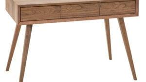 Schreibtisch Walnuss Dunn 3