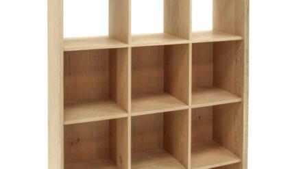 Bücherregal Eiche Dunn 120