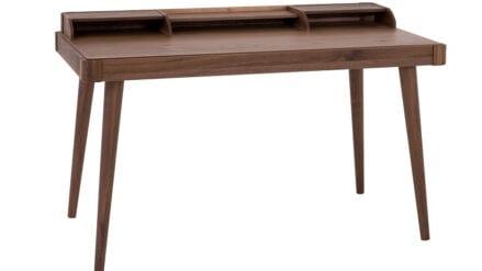 Schreibtisch Walnuss Amaranth