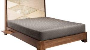 Designer Bett aus walnussDecor