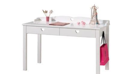 Schreibtisch weiß Herzi