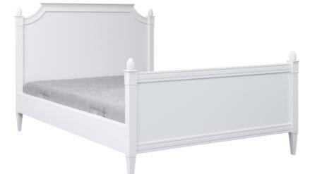 Bett Ane Weiß
