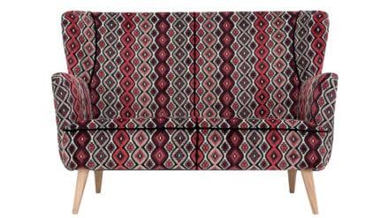 Designer Sofa Callas rot