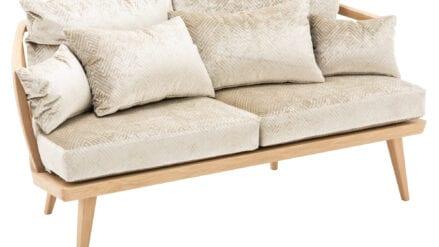 Designer Sofa taupe Aerie