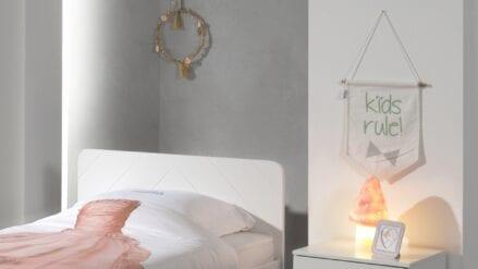 Nachtkonsole Buby Weiß