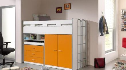 Hochbett Tim orange 150