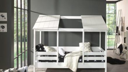 Hausbett Lulu Weiß