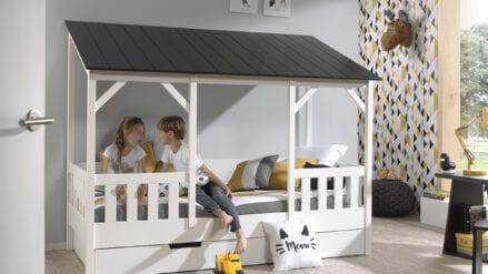 Hausbett mit Bettschublade Lulu