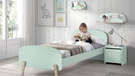 Einzelbett Luna mint
