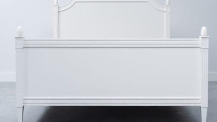 Bett Weiß Ane