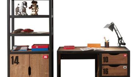 Set Regal & Schreibtisch Beck