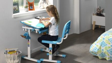 Schreibtisch Dani Blau