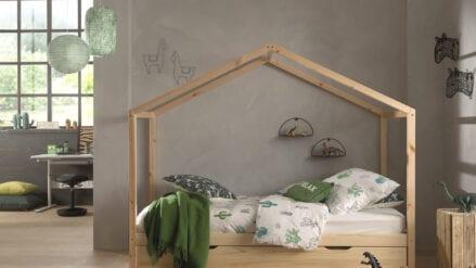 Hausbett mit Bettschublade Capa