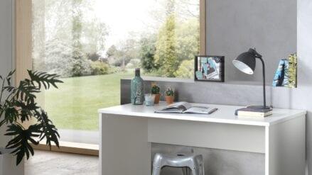 Schreibtisch Stone Weiß