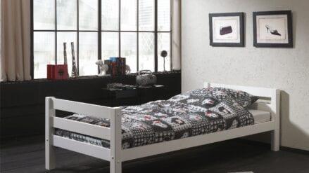 Einzelbett Asti weiß