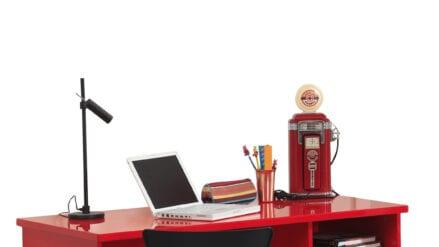 Schreibtisch Lambo rot
