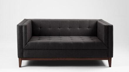 2-Sitzer Sofa schwarz by Tom