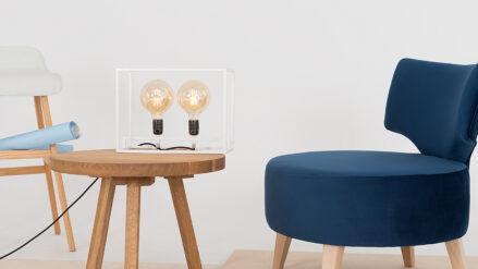 Designer SESSEL blau flippin- RIVIERA 81