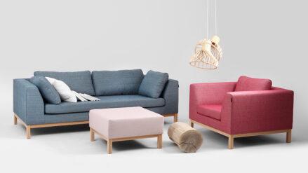 Sofa ambient wood mit holz