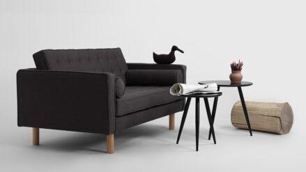 Schlafsofa 2-Sitzer Topic Wood