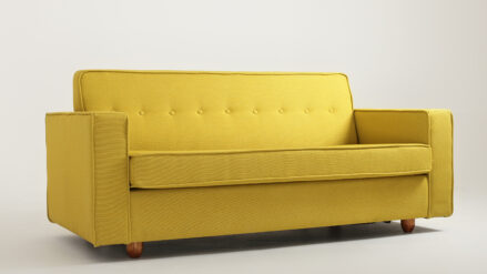 Schlafsofa 3-Sitzer Sofa Zugo