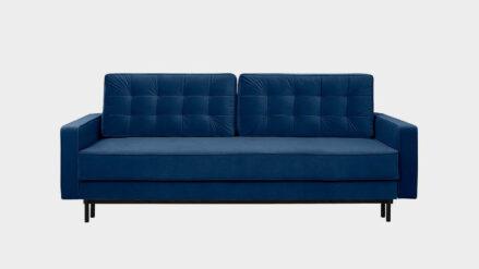 Schlafsofa mit Bettkasten Bloom blau