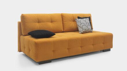 Schlafsofa gelb mit bettfunktion 160x200