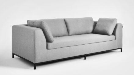 3-Sitzer Schlafsofa Sofa grau Ambient