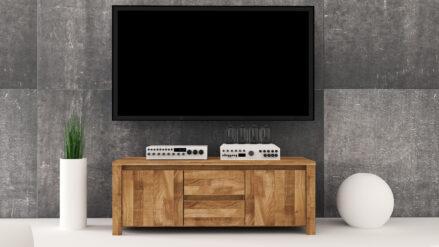 Massivholz TV-Schrank Vinci 1015