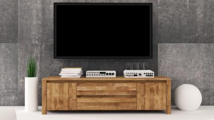 Massivholz TV-Schrank Vinci 1017