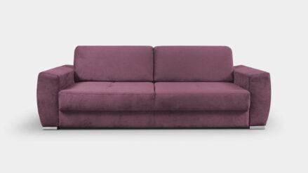 Schlafsofa mit Bettkasten Zara violett