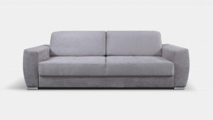 Sofa mit schlaffunktion Zara silber