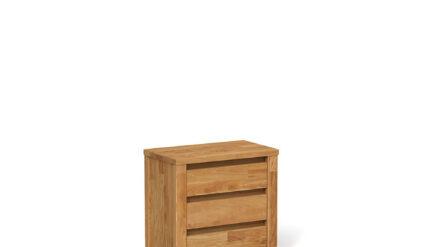 Massivholz Nachttisch aus eiche Vinci 3