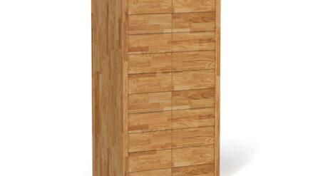 Massivholz Kleiderschrank aus eiche Vinci 2